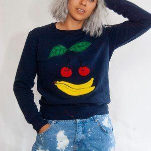AMI Alexandre Mattiussi Fruit Patch Sweatshirt S